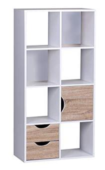 bibliothèque avec tiroir