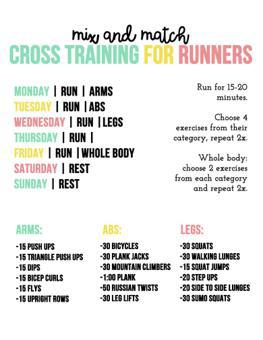 cross training programme