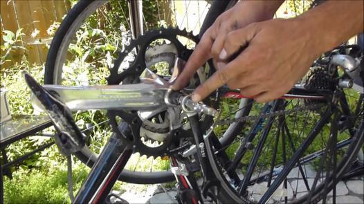 demonter pedale velo