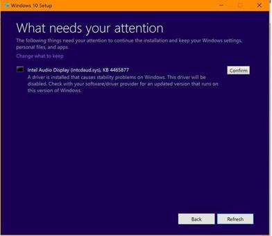 mise a jour windows 10 probleme