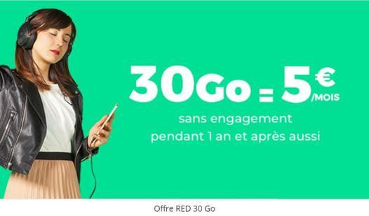 red sfr 30 go