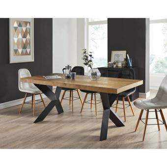 table bois et noir