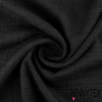 tissu noir