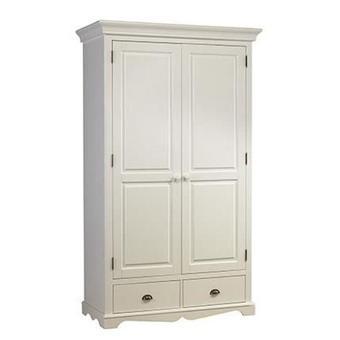 armoire penderie blanche