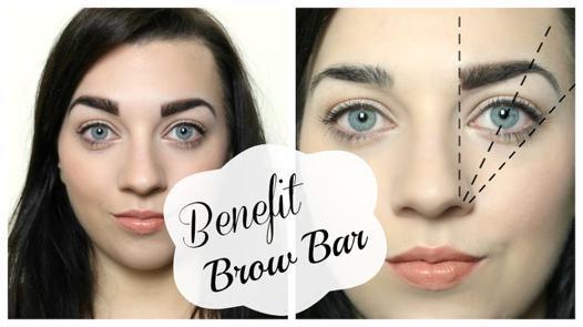 benefit brow bar