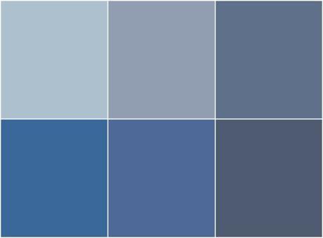 bleu gris
