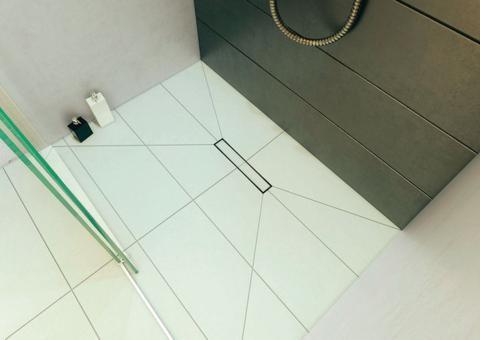 caniveau douche à l italienne