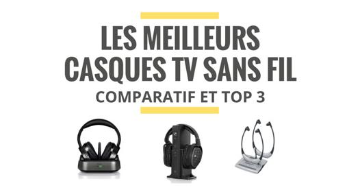 casque tv sans fil comparatif
