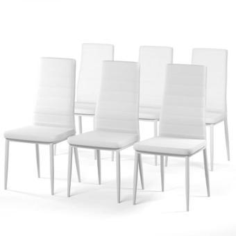 chaise blanche salle a manger