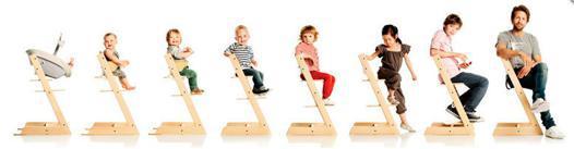 chaise haute évolutive stokke