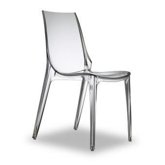 chaise transparente