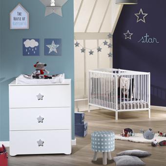 chambre bebe etoile