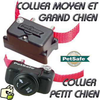 collier petsafe anti fugue