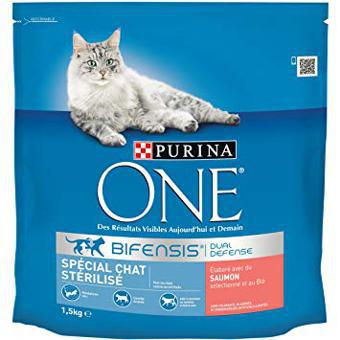croquette purina one chaton