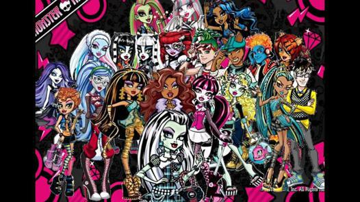 dessin animé de monster high