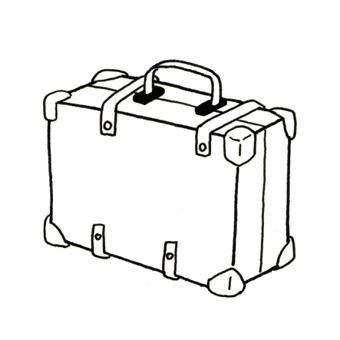 dessin de valise