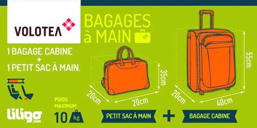 dimension bagage main ryanair