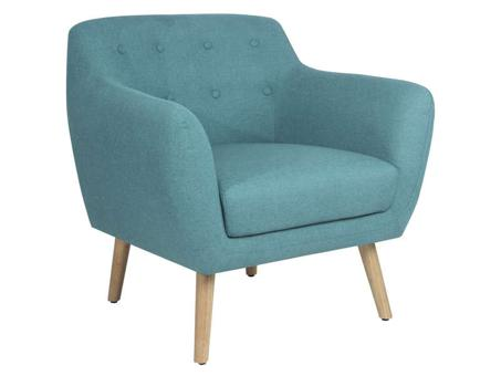 fauteuil turquoise