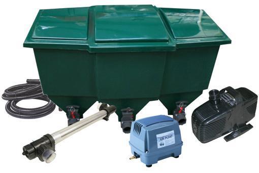 kit de filtration pour bassin