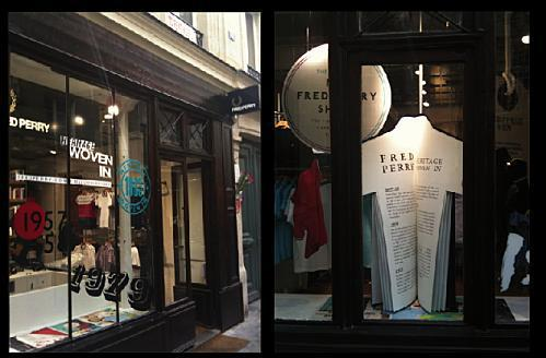 magasin fred perry paris