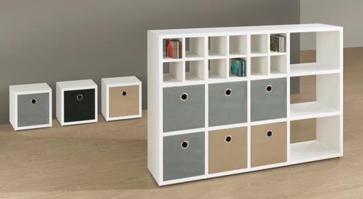 meuble cube modulable