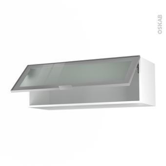 meuble haut vitré cuisine