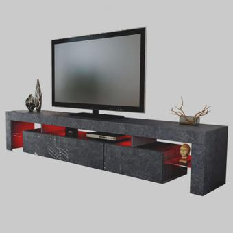 meuble tv bas et long
