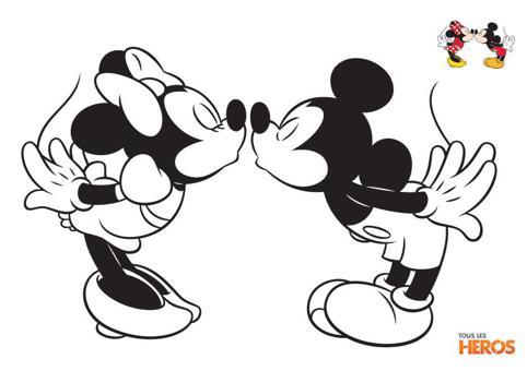 mickey et minie