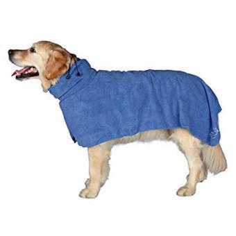 peignoir pour chien