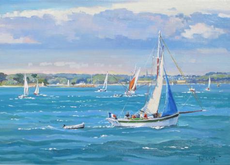 peinture marine