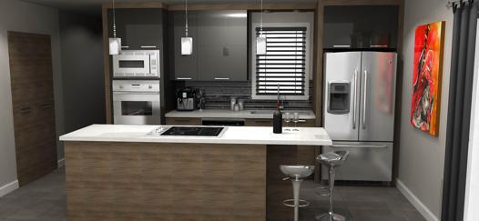 plan cuisine 3d
