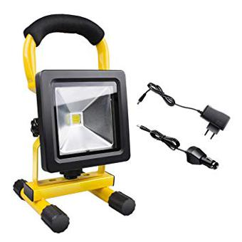 projecteur chantier led rechargeable