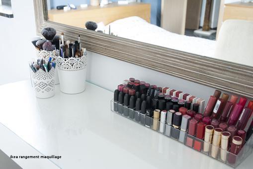 rangement maquillage ikéa
