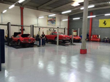 resine epoxy sol garage