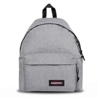 sac a dos eastpak gris clair
