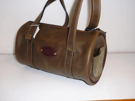 sac polochon cuir