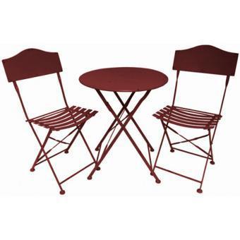 table chaise jardin