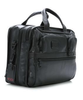 tumi alpha leather