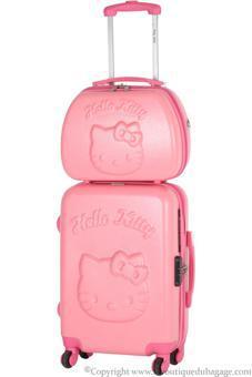 valise hello kitty rose