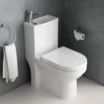 wc avec lave main intégré