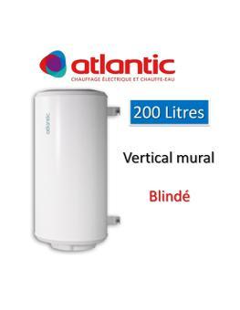 chauffe eau 200l atlantic