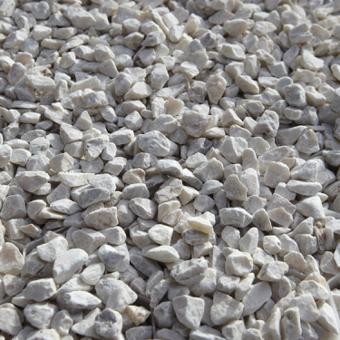 gravier marbre blanc
