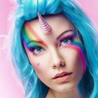licorne maquillage