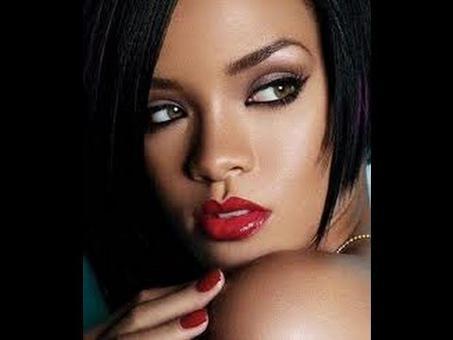 maquillage de rihanna