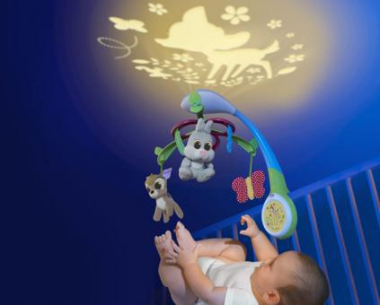 mobile bébé disney