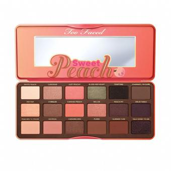 palette sweet peach too faced