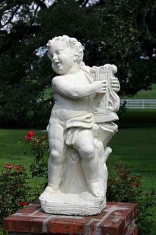 statue jardin exterieur