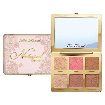 too faced natural face