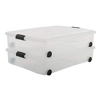 boite de rangement sous le lit