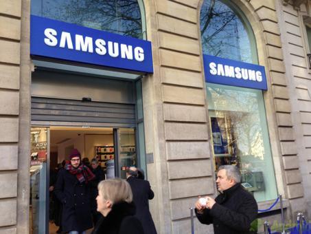 boutique samsung paris